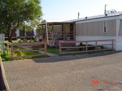 Sample home at Westfork Mobile Home Park